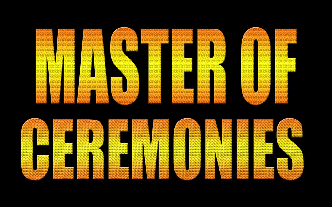 Are You Thinking Of Becoming A Master Of Ceremonies?